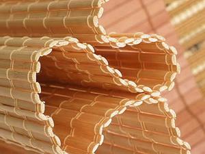 Рулонные бамбуковые жалюзи