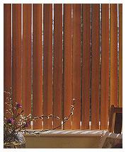 Вертикальные деревянные жалюзи