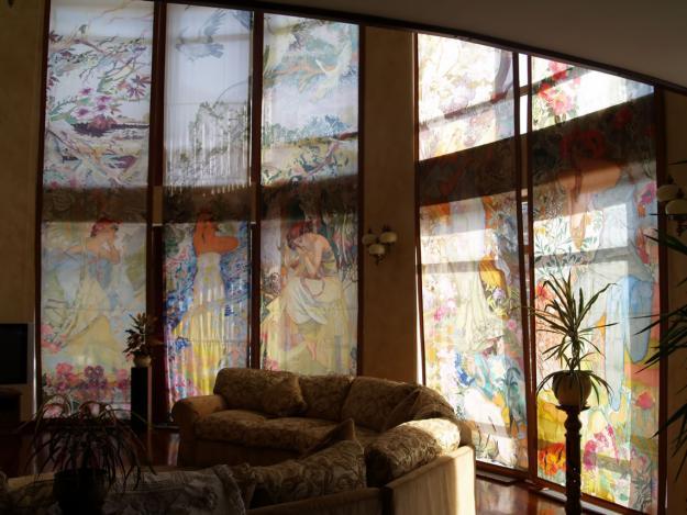 На витражные окна в гостинице краснодара по ул индустриальной (цмр) кассетной системы жалюзи