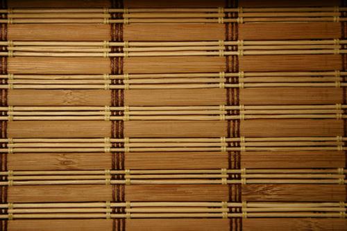 жалюзи из бамбука фото