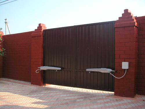 Механизм автоматическое открывание ворот