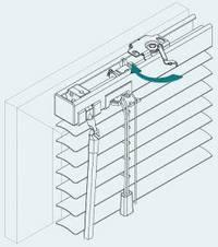 Инструкция по установке горизонтальных Al жалюзи.